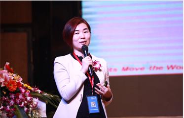 大奖官方网站88tp88手机版集团CEO郭蓬红成都开讲